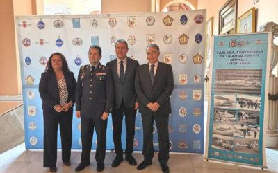 Rosabus colabora en el patrocinio del centenario de la Base Aérea de Tablada, en Sevilla