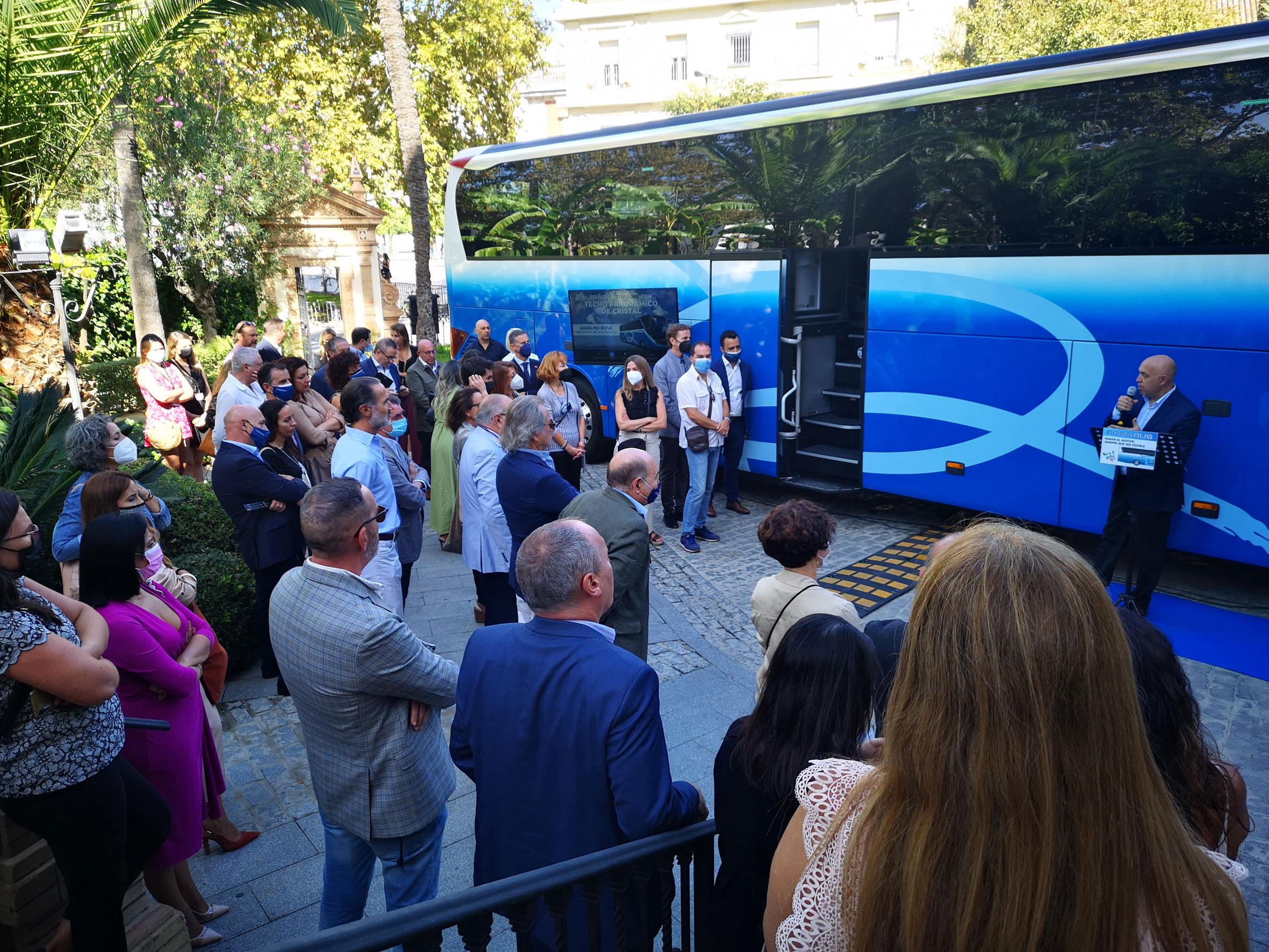 ROSABUS, primera empresa del sector discrecional turístico en conseguir el certificado en huella de carbono